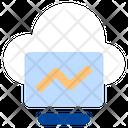 Online Presentation Business Monitor Icon
