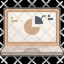 Online Presentation Online Report Report Icon