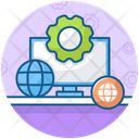 Online Processing Online Configuration Network Operation Icon