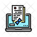 Online Processing Online Processing Icon