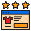 Support Star Review Icon