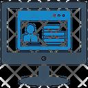 Id Identity Monitor Icon