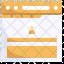 Online Profile Form Icon