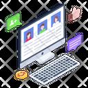 Online Profiles Icon