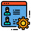 Browser Management Gear Icon