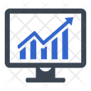 Business Growth Earnings Money Icon