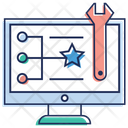 Online Project Management Icon