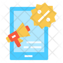 Online Marketing Megaphone Icon