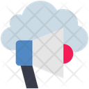 Cloud Computing Promotion Icon