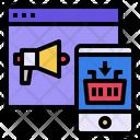 Website Megaphone Mobile Icon