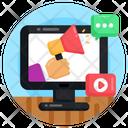 Digital Marketing Online Marketing Media Marketing Icon