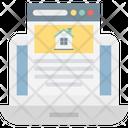 Online Property Icon