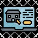 House Laptop Buy Icon