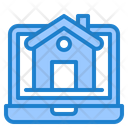 Online Property Home House Icon