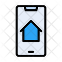 Online Property Online Realestate Mobile Icon