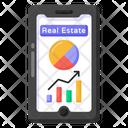 Online Property Analytics Icon