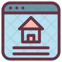 Online Property Marketplace Icon