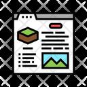 Online Property Sale Icon