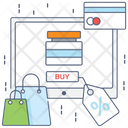 Online Shopping Buy Online Ecommerce Icon