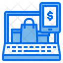 Laptop Screen Package Icon