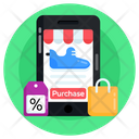 Online Shopping Mobile Shopping Shopping App Icon