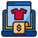 Reciept Bill Shopping Icon