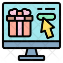 Online Purchase Gift Online Order Online Shopping Icon