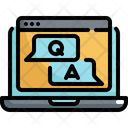 Online Question Answer Icon