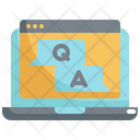 Question Answer Online Icon