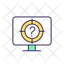 Online Questionnaire Strategy Computer Icon