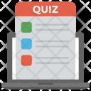 Online Quiz Icon