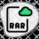 Online Rar File Icon