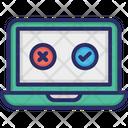 Computer Laptop Selection Icon