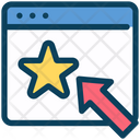 Online Rating Click On Star Rating Icon