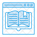 Reading Online Book Icon