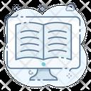 Online Reading Icon
