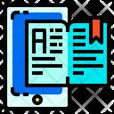 Book Smartphone Education Icon