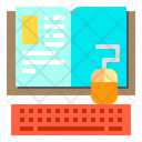 Book Keyboard Education Icon