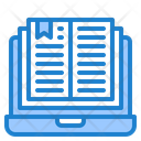 Book Laptop Elearning Icon