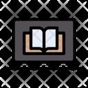 Online Study Education Icon