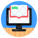 E Book Online Reading Online Study Icon