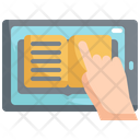 Online Reading Book Icon