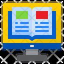 Online Reading E Book Ebook Online Book Icon