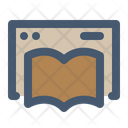 Online Book Reading Book Book Website Icon