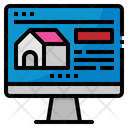 Computer Home House Icon