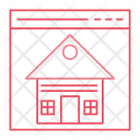 Online Estate House Icon