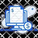 Invoice Online Receipt Voucher Icon