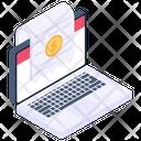 Online Receipt Icon