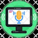 Online Recorder Sound Recorder Voice Recorder Icon