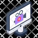 Online Video Online Recording Digital Video Recording Icon